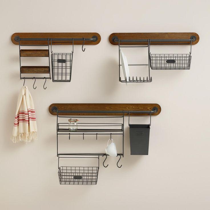 Modular Kitchen Wall Storage Collection | World Market- craft storage