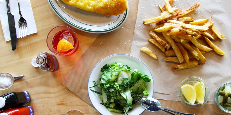 Fresh fish and hand-cut chips are a perfect combination, and the brains behind Ol' School promise to deliver both in the best way possible. - as seen on queenslander weekender