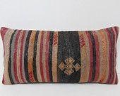 kilim pillow wedding lumbar pillow garden pillow case primitive home decor shabby chic furniture wool pillow case couch pillow case 28493
