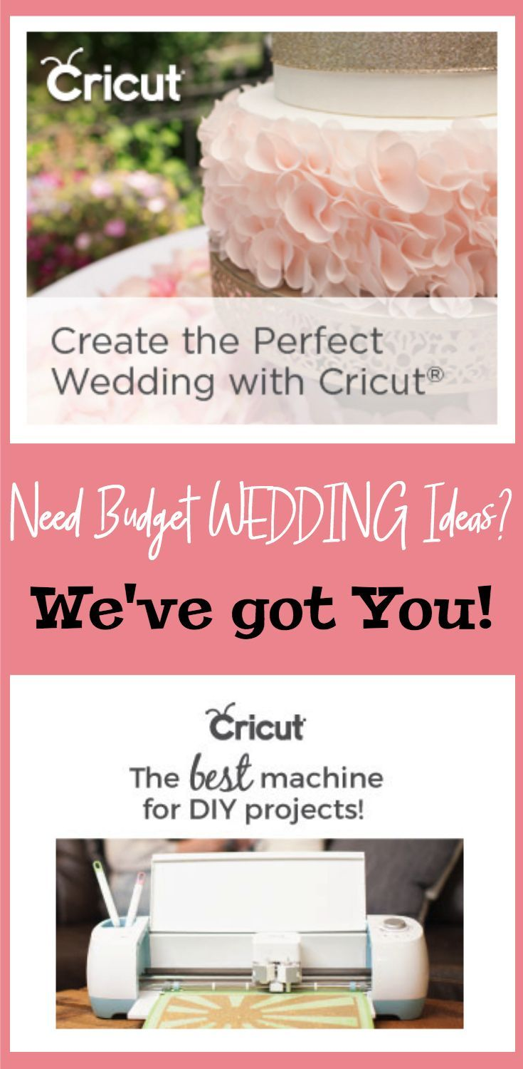 Find affordable DIY Wedding Ideas and Inspiration at the Cricut