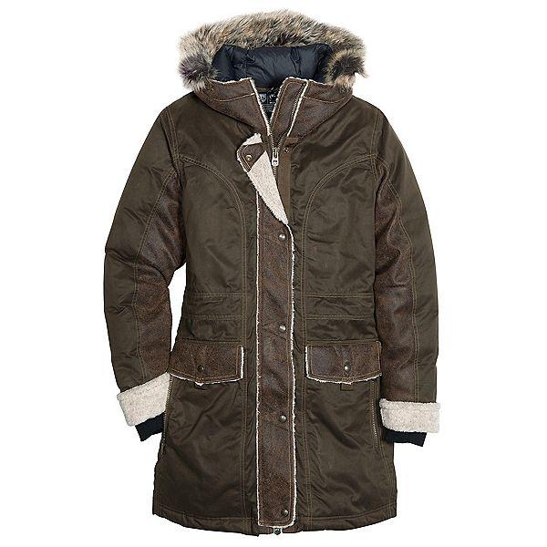 KUHL Arktik w/Faux Fur Parka Womens Jacket, Olive $400
