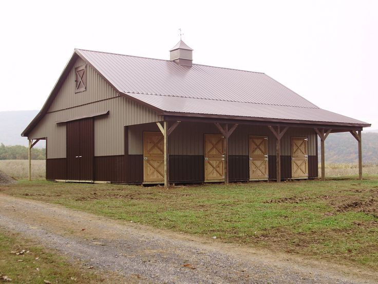 16 Best Equestrian Pole Barns Images On Pinterest