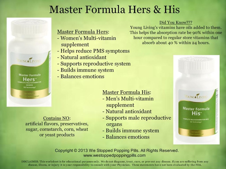 Master Formula Hers & His  www.westoppedpoppingpills.com