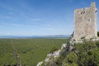 Torre di Castel Marino, itinerario (A2)
