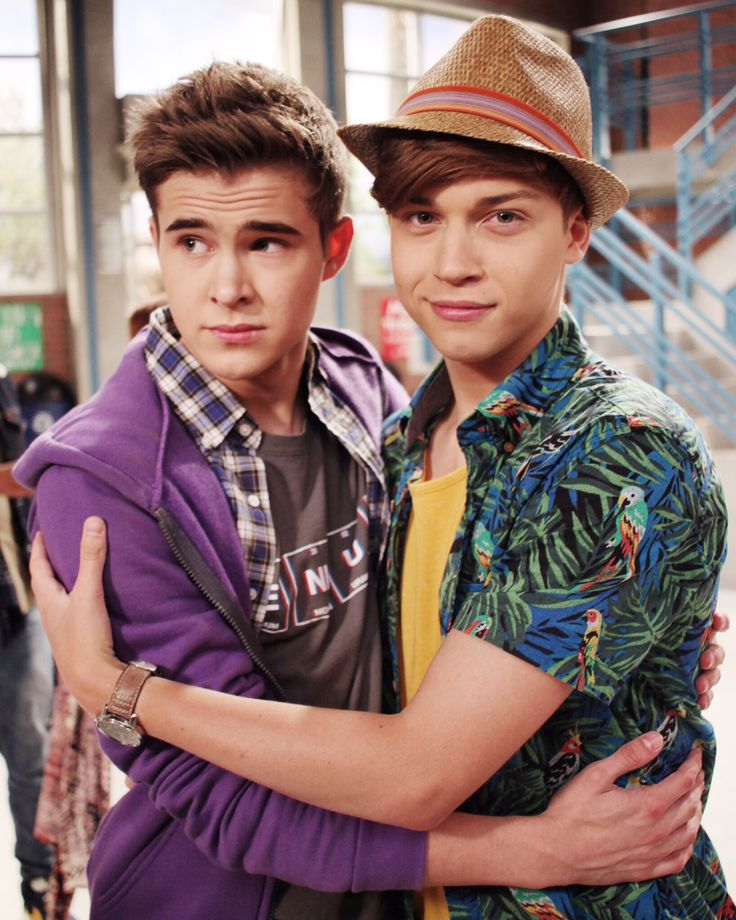 "Gus Kamp & Ricky Garcia from Disney Channel's ""Best Friends Whenever"""