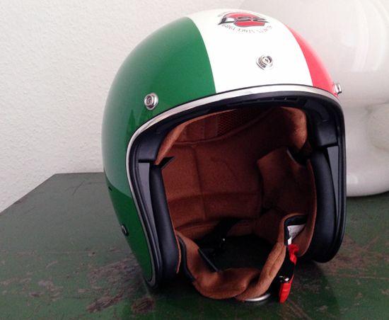 Cute LS Bobber Helm Modell OF Italia