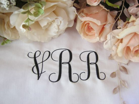 BESV577 - Monogram 2 Personalize towels and favourite crafts with this curly monogram set. It includes both size letters for ease of use. Please see the Colour Charts for letter sizing. http://tinyurl.com/gpwqnn4