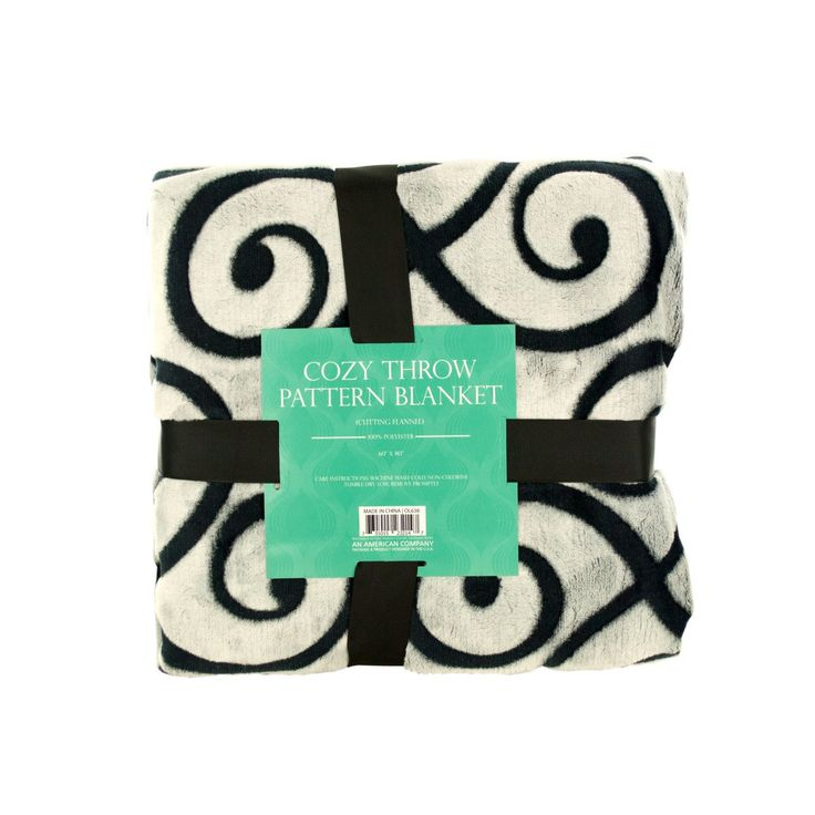 Wholesale Cozy Cutting Flannel Fleece Throw Blanket (Case of 1)