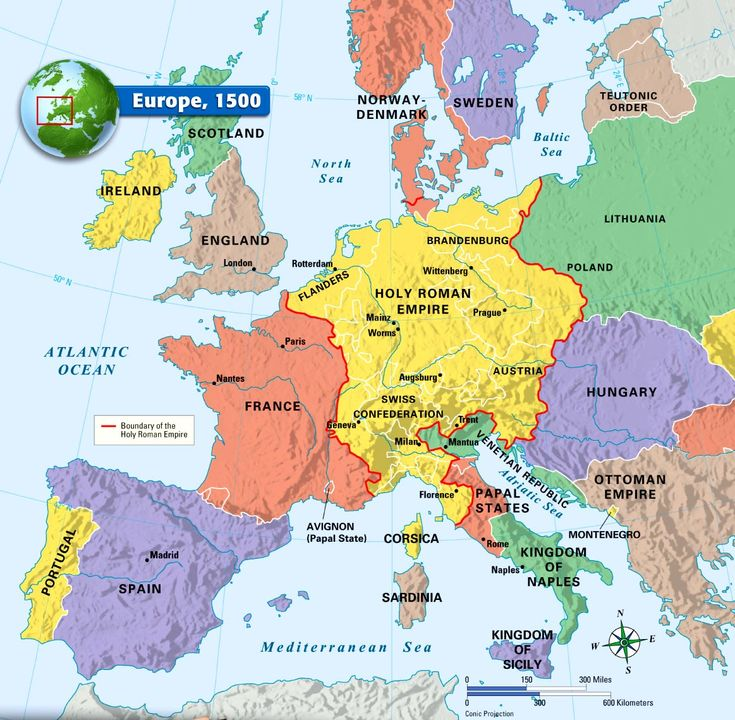 "Europe, 1500 |  The (oxymoron) Holy Roman Empire = REICH I  |▶ https://www.pinterest.com/pin/349803096036720623/   |▶ Teutonic Order (1253 AD) ✠ & Prussia ✠  |▶ ""German Empire"" (Prussia) first German Unification (1871-1918) = 1/3  POLAND Partitions ! = REICH II => WW I ✠  