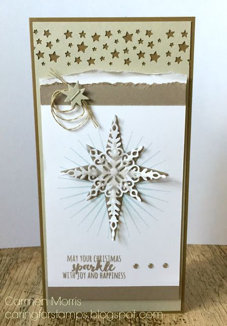 Caring for Stamps: Aftellen naar de Herfst/Winter Catalogus 10: Stampin' Up! ~ Starlight Thinlits Dies https://www.youtube.com/watch?v=XrcOXVIQNcM