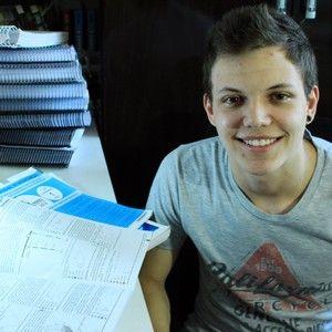 Maior nota do Enem em matemática, aluno diz que segredo é treino diário (Lucas Lourenço/G1MS)