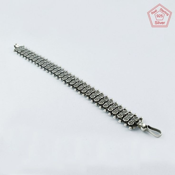 BREATH TAKING DESIGN 925 STERLING SILVER BRACELET BR4371 #SilvexImagesIndiaPvtLtd #Chain