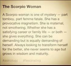 Image result for The Scorpio Woman