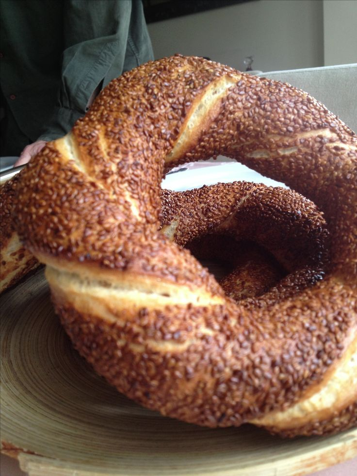 Simit!! Best thing I ate while living in Turkey