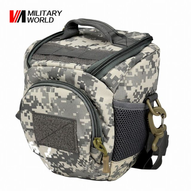 Fair price Outdoor Sport Camera Bag Case Camo Hunting Shoulder Messenger Bag Cycling Climbing Molle Vest Waist Pack Pouch Camera Handbag  just only $15.55 with free shipping worldwide  #sportsbags Plese click on picture to see our special price for you