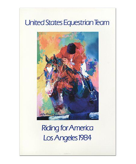 Leroy Neiman United States Equestrian Team Limited Edition Print | zulily