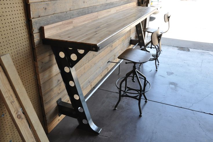 Half A Frame Bar by Vintage Industrial Furniture