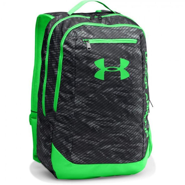 Sportovní batoh Under Armour s neonově zelenými prky
