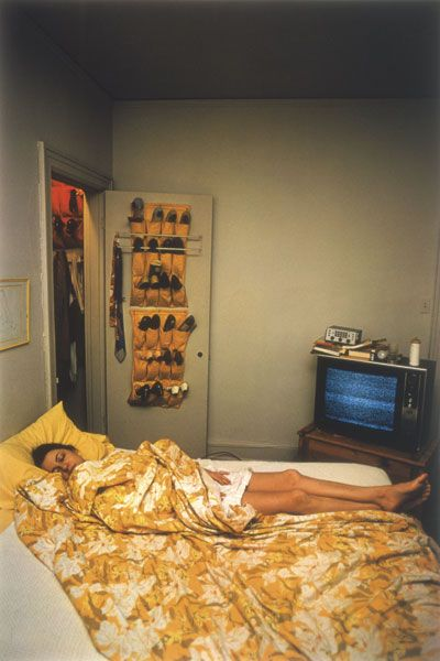 Untitled (Rosa Eggleston, Memphis, Tennessee, 1971) by William Eggleston.