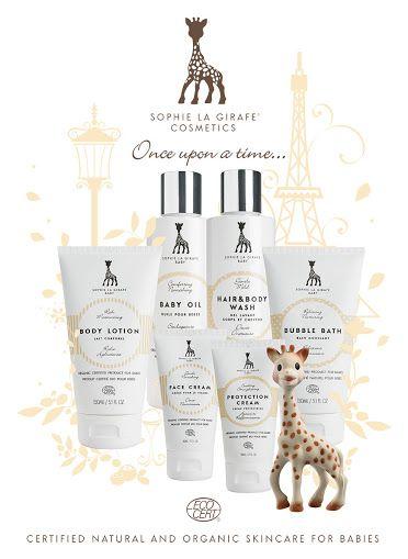 Cuida tu piel y la de tus seres queridos con la cosmética de Sophie la girafe baby. Dispone del sello #ecocert y es para veganos.  Mima e hidrata tú piel <3 #sophielagirafebaby