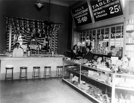 Old Drug Store Soda Fountain Old Peoples Drug Store Soda