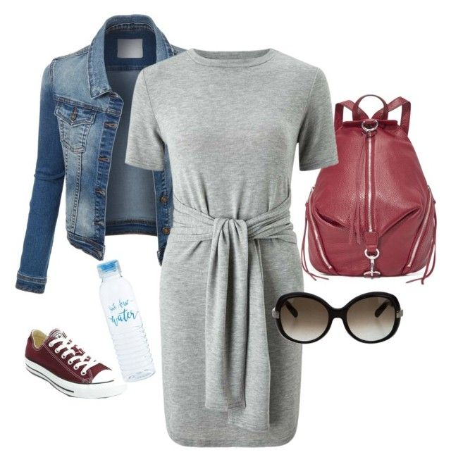 """""""139#weekend#relax#summer"""" by bidlekerika on Polyvore featuring Rebecca Minkoff, Miss Selfridge and Converse"""
