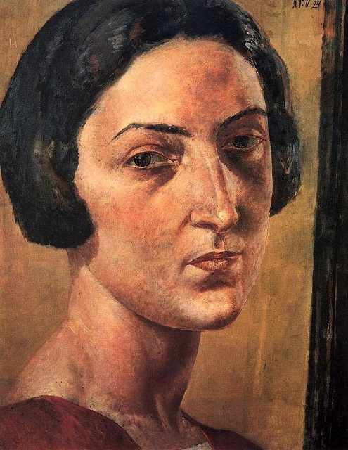 Kuzma Petrov Vodkin-Portrait-Of-M-Ehrenburg-1924