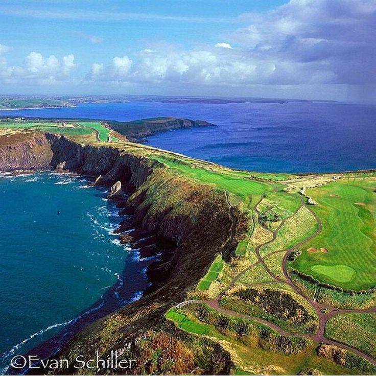 Old Head Golf Links in Ireland from @evan_schiller_photography