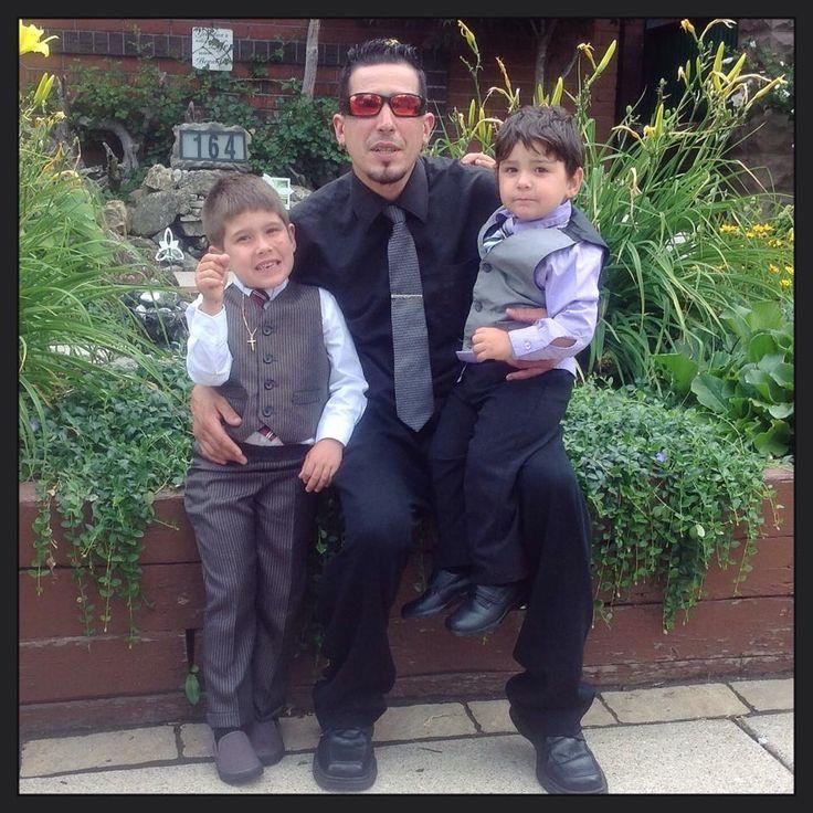 3 handsome guy's....