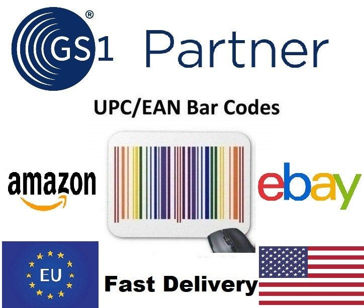 10 Codes Numbers Upc Ean Working Code Gs1 For Amazon Ebay Listing