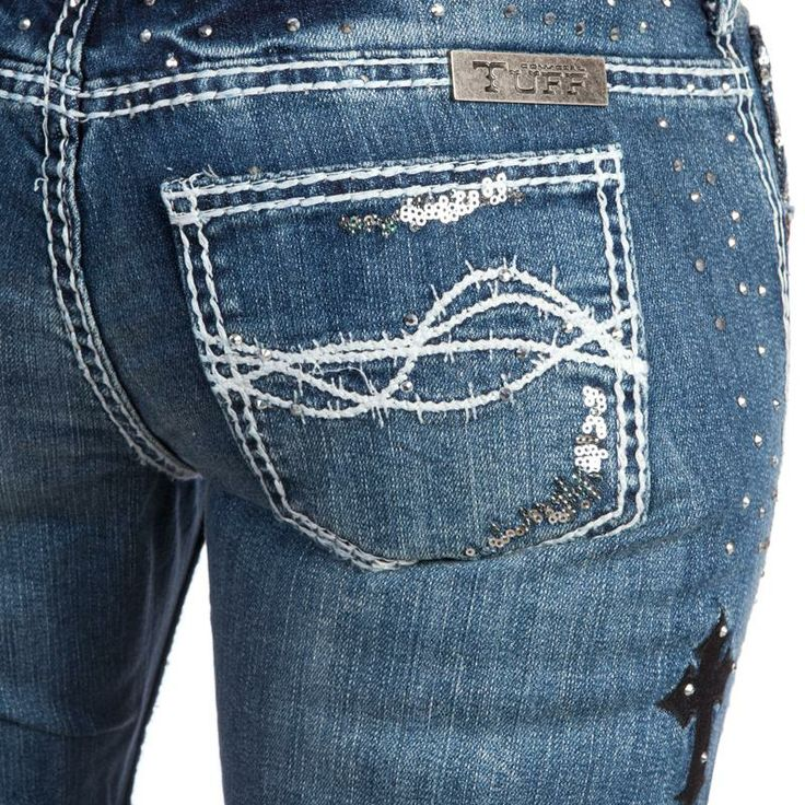 """""""Unbelieveable"""" Cowgirl Tuff Jeans"""