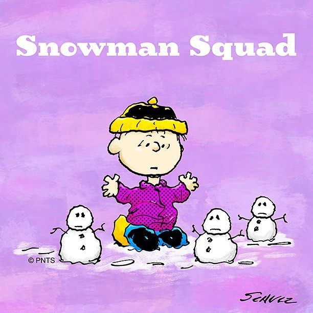 """8,814 Likes, 21 Comments - Snoopy And The Peanuts Gang (@snoopygrams) on Instagram: """"My Winter squad ⛄️"""""""
