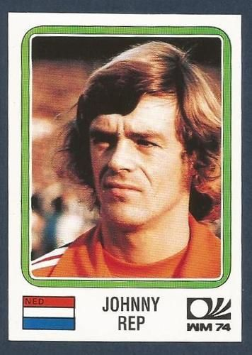 PANINI WORLD CUP STORY #088-MUNICH 74-NEDERLAND-HOLLAND-JOHNNY REP