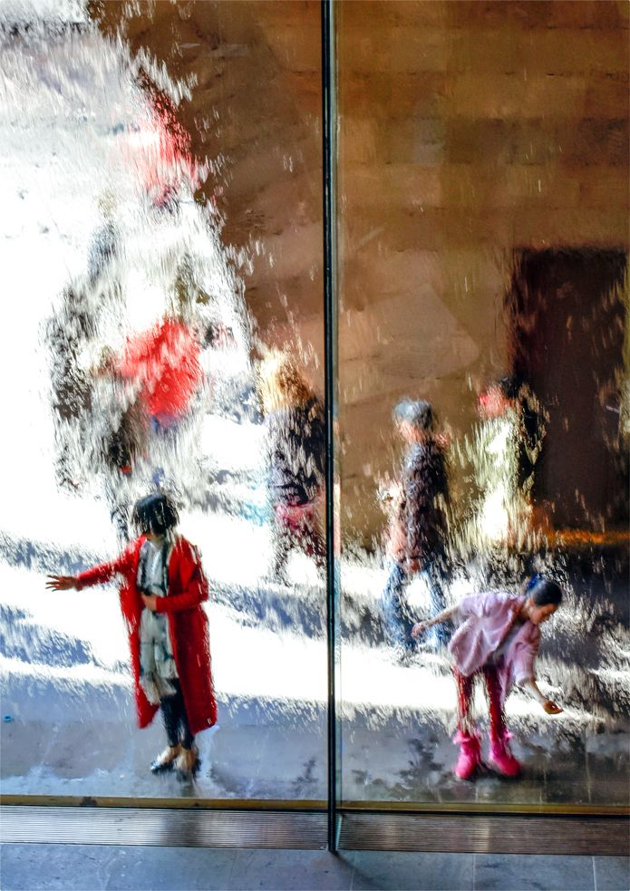 'Falling Water'. National Gallery of Victoria, St.Kilda Road, Melbourne. © G.C. Campbell.