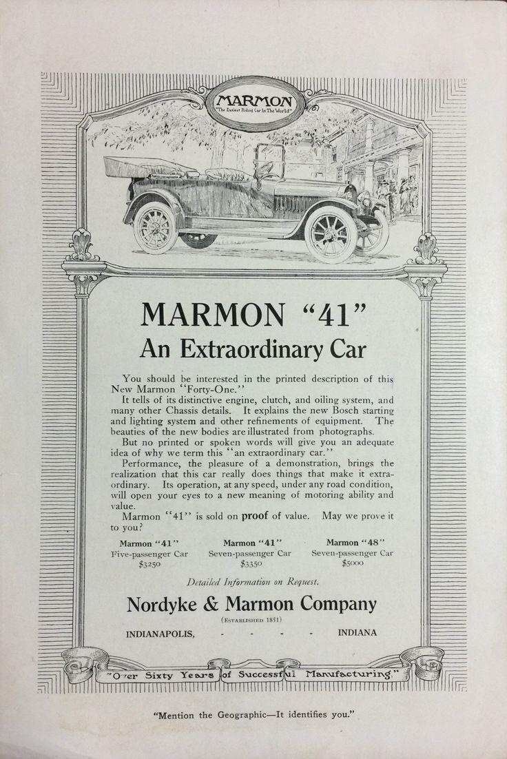 "1914 Marmon ""41"""