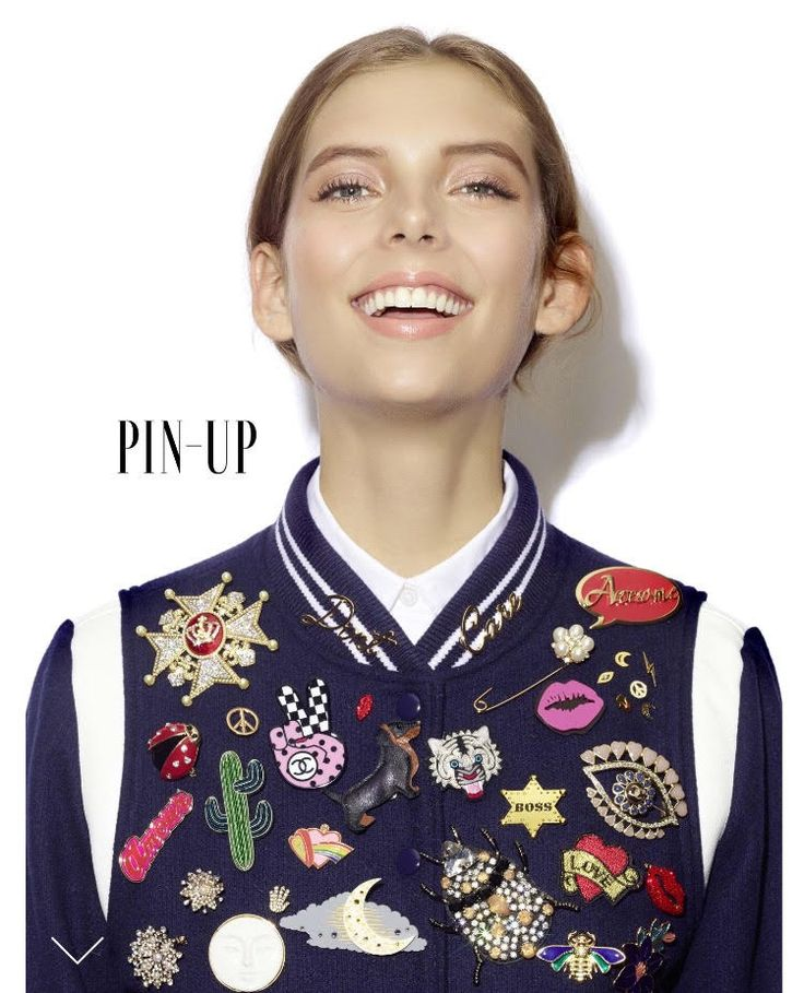 PIN-UP on GraziaUK editorial featuring the MFP Amour pin