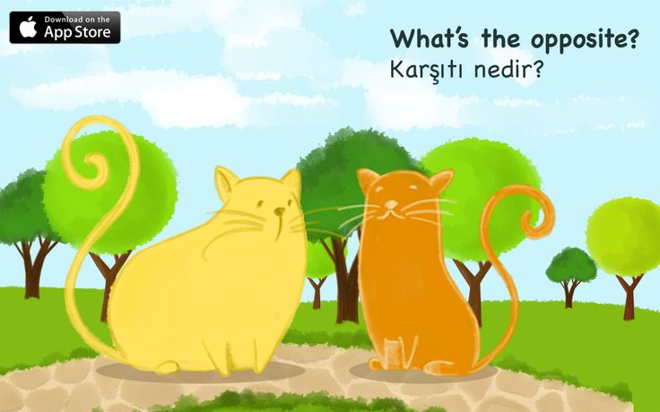 These lovely cats are waiting for kids... But where are they ? For ages 3+ App Store: https://itunes.apple.com/us/app/whats-the-opposite/id775886602?mt=8&uo=4  Bu kediler çocuklarınızı bekliyor. Ama nerede? 3 Yaş üzeri çocuklarımız içindir. App Store:  https://itunes.apple.com/tr/app/whats-the-opposite/id775886602?mt=8&uo=4&at=11l8HM #kids #children #ipad #ipadapps
