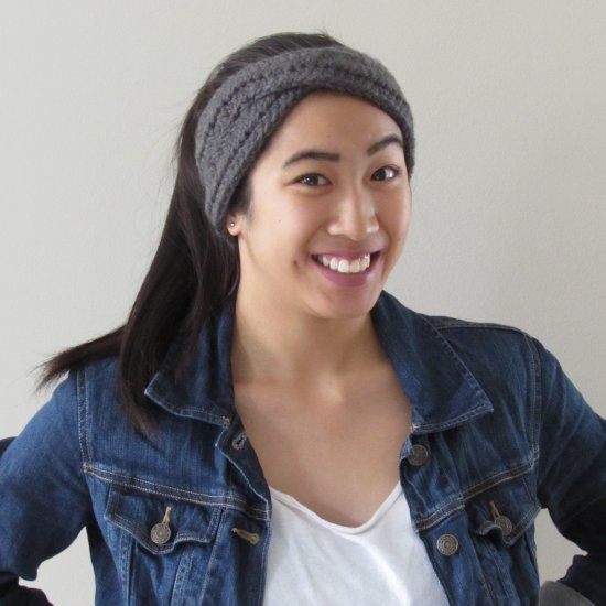 Learn to crochet this easy turban headband with this free pattern! thanks so xox