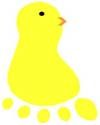 footprint chick -
