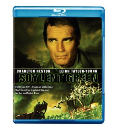 Soylent Green [Blu-ray] [1973] [US Import]: Amazon.co.uk: Charlton Heston, Edward G. Robinson, Leigh Taylor-Young, Chuck Connors, Joseph Cotten, Brock Peters, Paula Kelly, Stephen Young, Mike Henry, Lincoln Kilpatrick, Roy Jenson, Leonard Stone, Richard H. Kline, Richard Fleischer, Samuel E. Beetley, Russell Thacher, Walter Seltzer, Harry Harrison, Stanley R. Greenberg: Film & TV