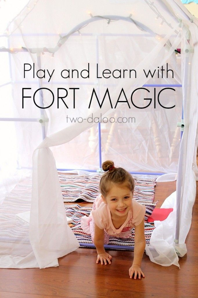 Play and Learn with Fort Magic: Review and Giveaway by Twodaloo