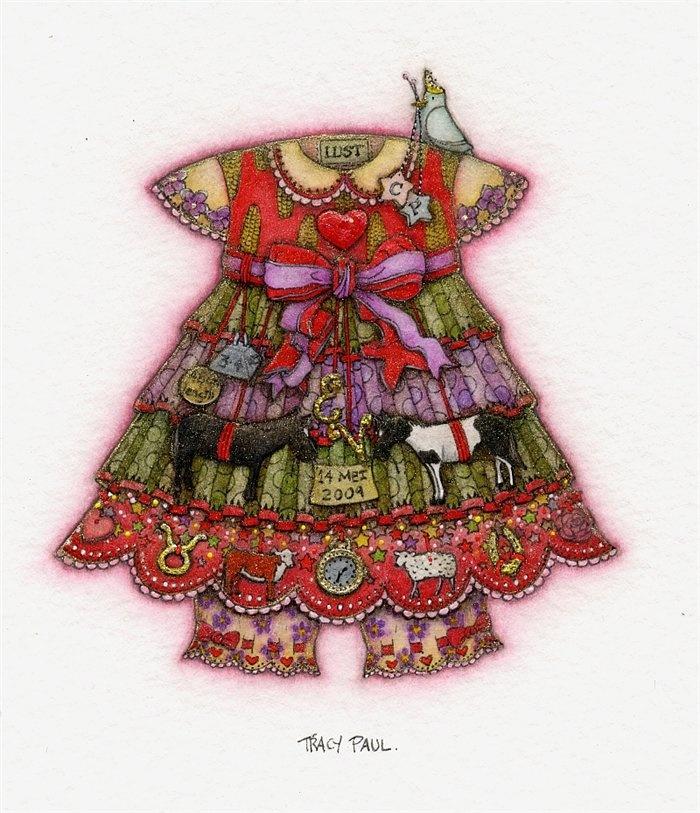 Esther Viola's birth dress