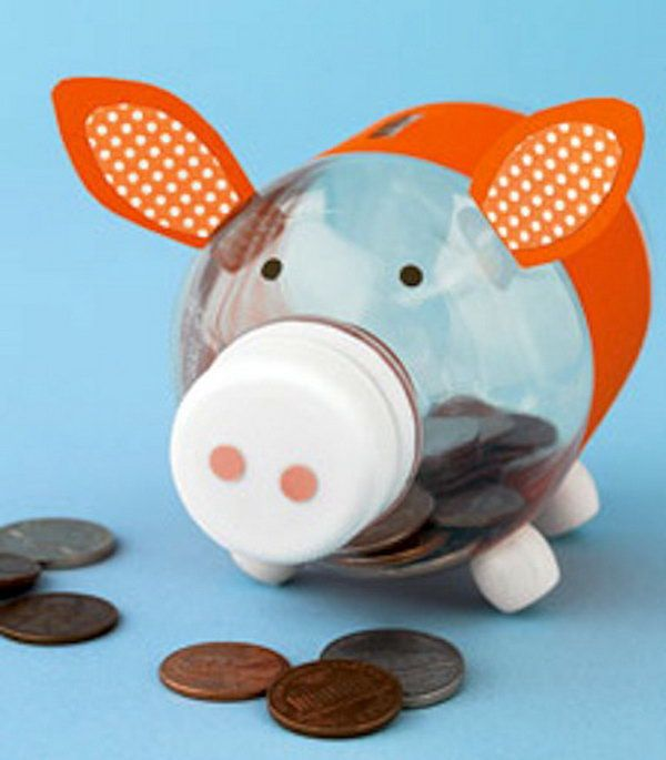 15 Insanely Creative Piggy Banks Crafts For Your Kids to Have Fun With While Saving Money