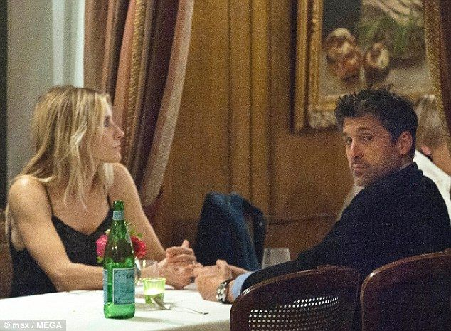 That's amore! Patrick Dempsey and his wife Jillian enjoyed a romantic dinner date night out in Rome on Saturday