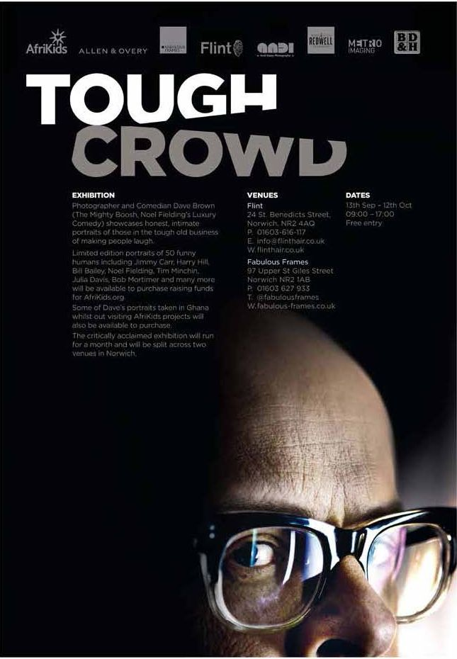 Tough Crowd exhibition at Flint and Fabulous Frames