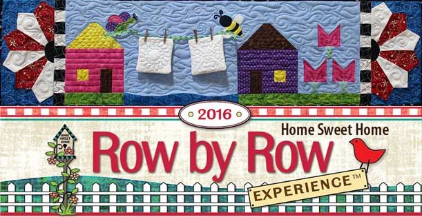Quilted Joy's Row for Row by Row 2016