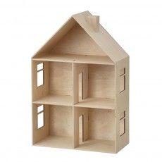 Wood doll house/ ferm living