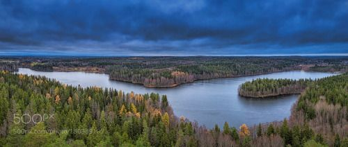 Aulanko finland by johnsson sunrise morning cloudscape panorama landscapes nature photograph Finland Aulanko finland johnsson