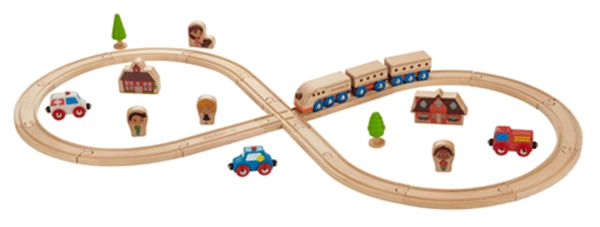 EverEarth Figure 8 Train Set - the perfect Christmas gift