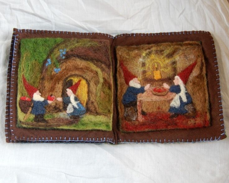 The Apple Gnome A Felted Book